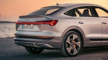 Audi e-tron Sportback - rear detail