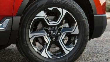 New Honda CR-V - wheel detail