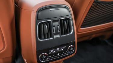 Maserati Levante - rear controls