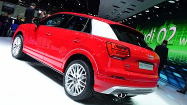 Audi Q2 - Geneva show rear