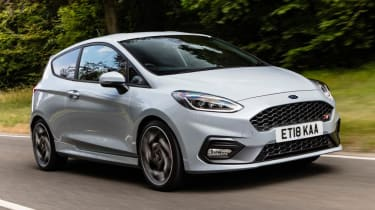 Ford Fiesta ST - Front tracking