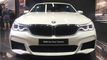 Frankfurt - BMW 6 Series Gran Turismo - bonnet