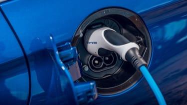 Hyundai Ioniq hybrid electric plug