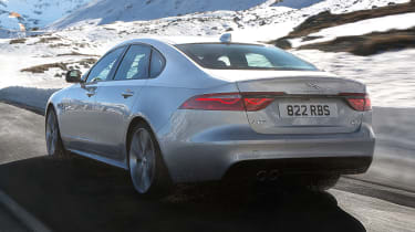 Jaguar XF AWD - rear