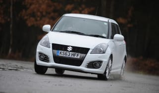 Suzuki Swift Sport 5 door 2014 front cornering