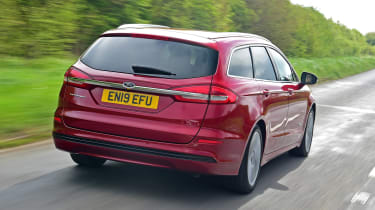 Ford Mondeo Hybrid Estate - rear action