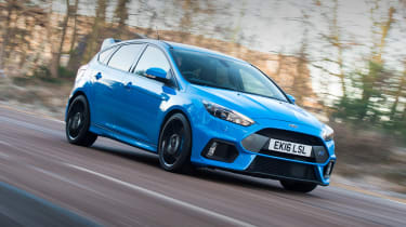 Ford Focus RS Mountune - front action