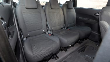 Used Peugeot 5008 - rear seats