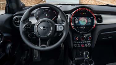 MINI JCW 2021 facelift - interior