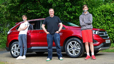 Ford Edge second report - header
