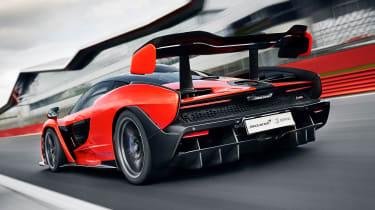 McLaren Senna prototype - rear