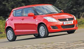 Suzuki Swift front cornering