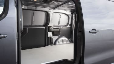 Vauxhall Vivaro van - side door
