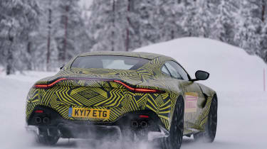 Aston Martin Vantage prototype - rear action