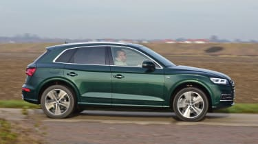 Audi Q5 PHEV long-termer - first report side