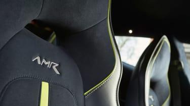 Aston Martin Rapide AMR - seat detail