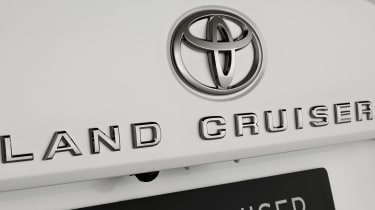 Toyota Land Cruiser - Land Cruiser badge