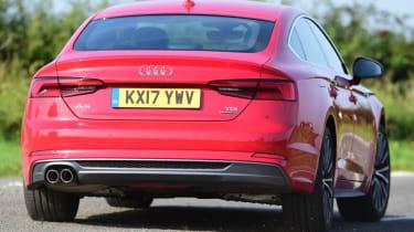 Twin test - Audi A5 - rear