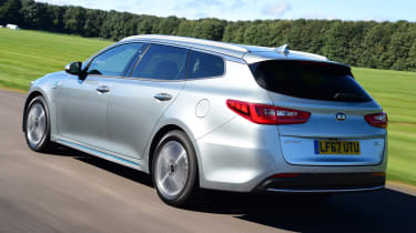 Kia Optima PHEV - rear
