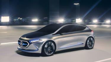 Mercedes EQA concept - front