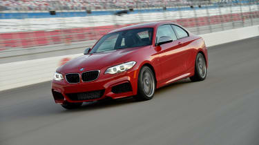 BMW M235i 2014 front track