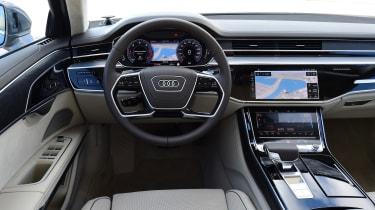 New Audi A8 2017 - interior
