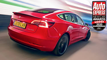 The Tesla Model 3 combines all the benefits of a premium executive car, with super-low running costs and stunning performance.