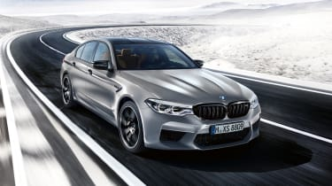 BMW M5 Competition Pack - front