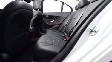 Mercedes C-Class rear seats