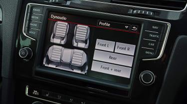 VW Golf GTI - screen
