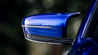 New BMW M5 - mirror
