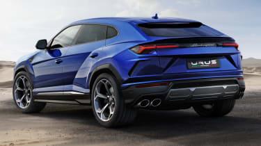 Lamborghini Urus - static rear