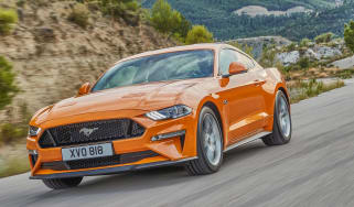 2018 Ford Mustang front quarter