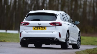 Vauxhall Insignia GSi Sports Tourer - rear action