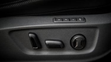 Skoda Kodiaq - seat controls