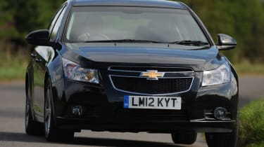 Chevrolet Cruze front cornering