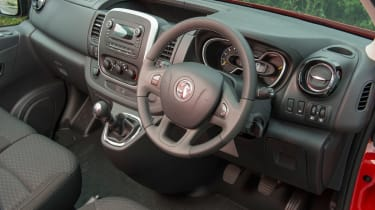 Vauxhall Vivaro dash
