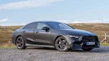 Mercedes CLS prototype - front static