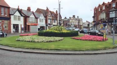 Wallasey Village roundabout, Wallasey
