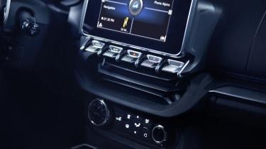 Alpine A110 sports car 2017 - studio dashboard