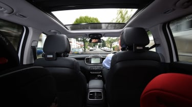 Kia Sorento long-termer - interior