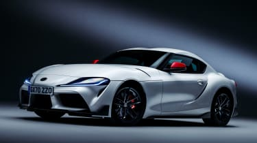 Toyota GR Supra 2.0 - front static