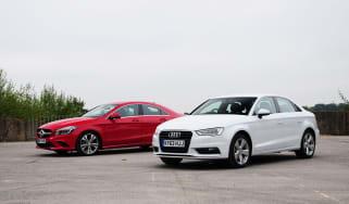 Audi A3 vs Mercedes CLA