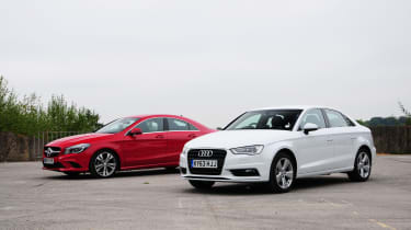 Audi A3 vs Mercedes CLA
