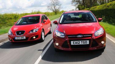 Ford Focus EcoBoost vs SEAT Leon TSI