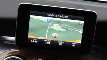 Mercedes GLC Coupe - sat-nav