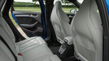 Used Audi RS 3 - rear seats