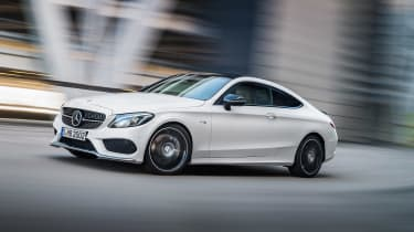 Mercedes C 43 AMG Coupe - front driving