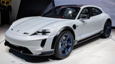 Porsche Mission E estate electric vehicle
