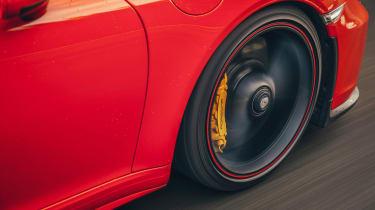 Porsche 911 Speedster - side detail